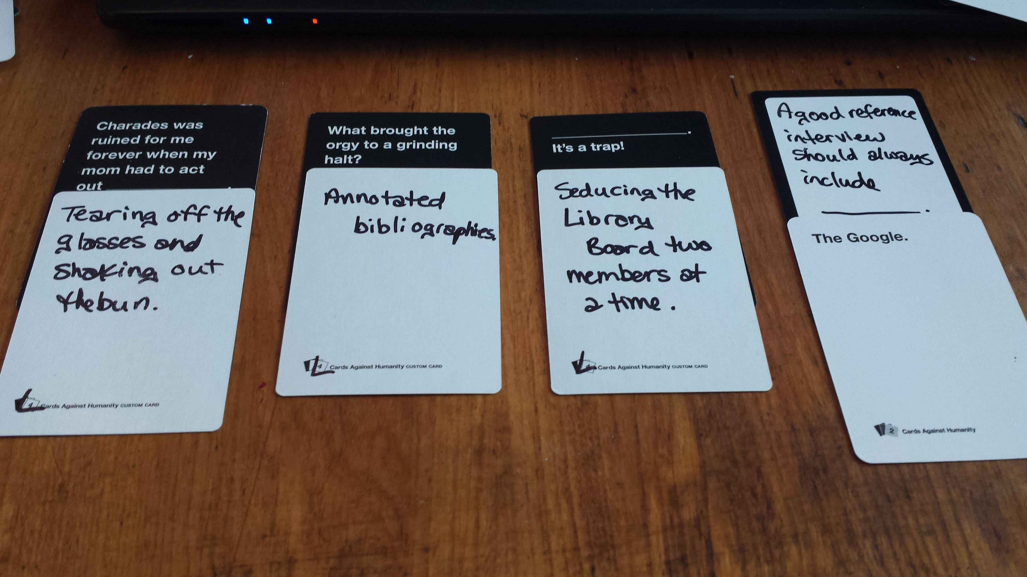 Cards Against Humanity – Is it for You? | The FIMS Gaming Club